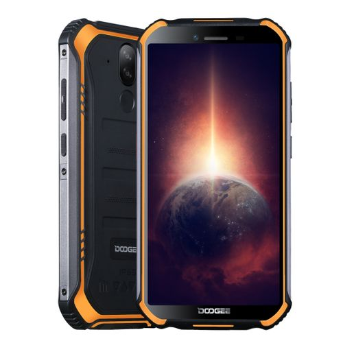 S40 Pro Rugged Phone, 4GB+64GB, 4650mAh Battery, 5.45 Inch Android 10, Network: 4G(Orange)