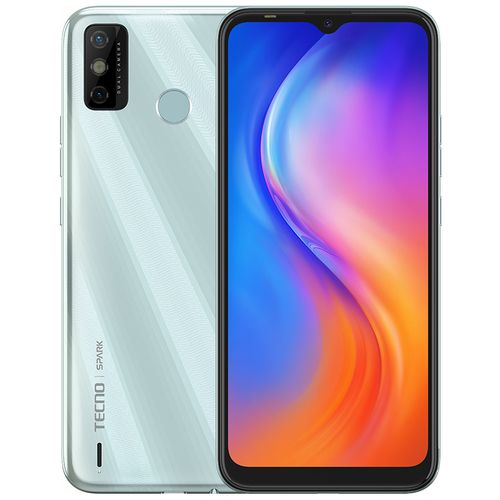 Spark Go 2020, 6.52'' HD+, 32+2GB, 13MP Rear Camera + 8MP Front Camera, 5000mAh Battery, Android 10, 4G - Mystery White