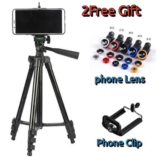 3120 Compact Portable Photography Camera Tripod Stand With Holder Control