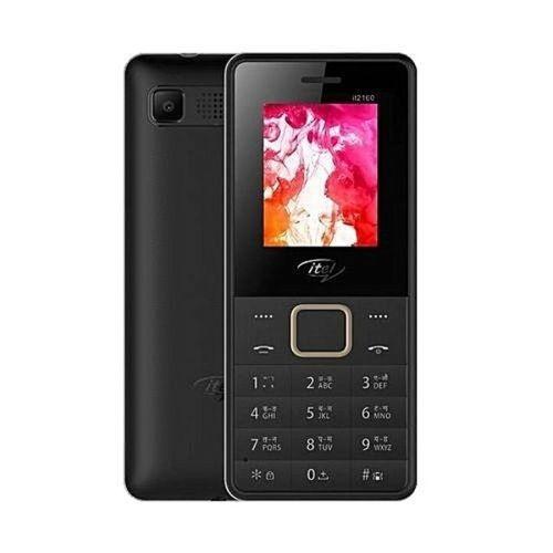 It2160 Wireless FM, Torchlight, Dual SIM - Black