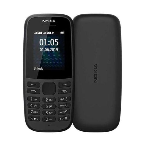 105 (2019) Dual SIM, FM Radio, TORCH, 800mAh- Black