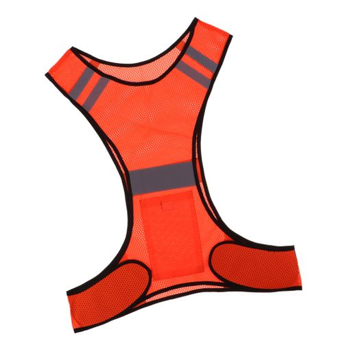 Reflective Running Vest High Visibility Sports Vest For Cycling Red