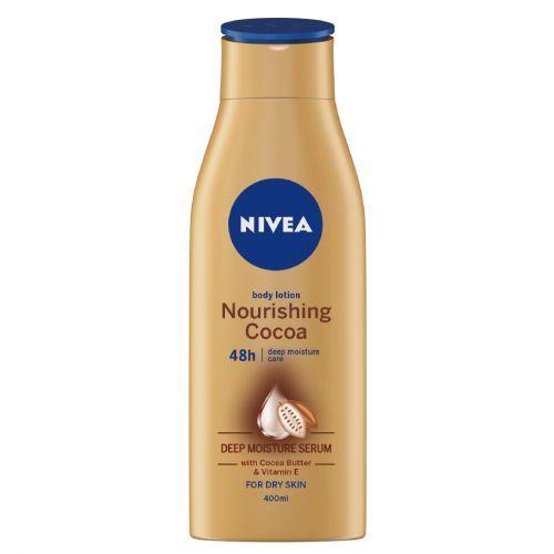 Nourishing Cocoa Body Lotion 400ml + FREE Dry Fresh Roll-on For Men 50ml