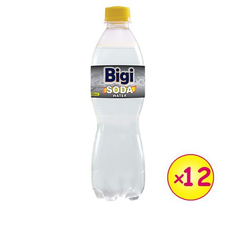 Soda Carbonated Water - 600ml Pack Of 12