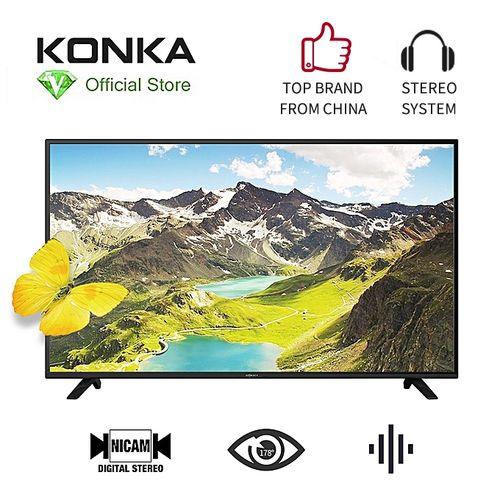32 Inch Analog LED TV - Stereo System - HDMI(2) - USB(2) - Black