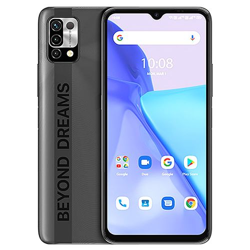 """Power 5 (3GB,64GB ROM) 6150mAh Android 11 Infrared Temperature Sensor 2.0 (16MP+8MP+5MP)+8MP 6.53""""FullView-CarbonGrey"""