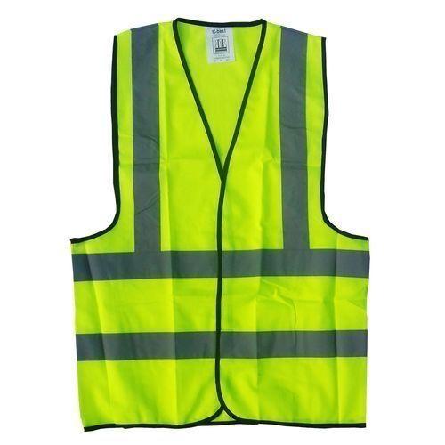 Reflective Safety Jacket - Lemon. By 12 Pieces 11000