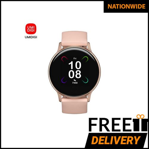 Uwatch 3S Personalized 5ATM Waterproof Heart Rate SpO2-Gold