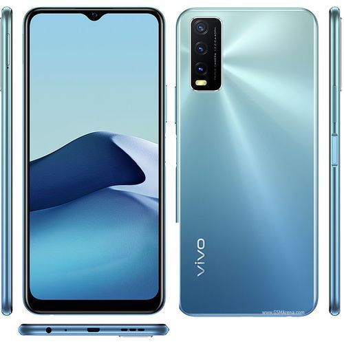 """Y20s - 6.5"""" (8GB, 128GB ROM) Android 10 (13/2/2)MP + 8MP Wide Angle Selfie - 4G LTE - Dual Sim - 5000mAh - Purist Blue"""