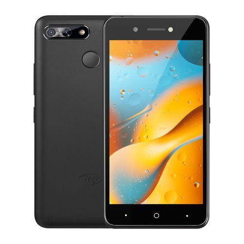 "P15 - 5.0"" HD Screen, 16GB ROM ,1GB ROM, Android 9 Pie, 5MP + 5MP Camera, 4000mAh, Fingerprint, Face ID - Black"