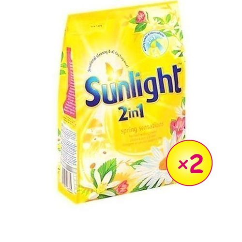 Spring Sensations Detergent Powder Yellow 900G X2