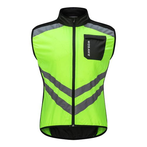 Cycling Vests Riding Bike Sleeveless Vest Wind Coat With Reflective