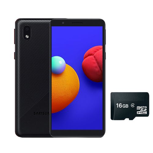 "GALAXY A3 CORE -5.3"" -16GB ROM/1GB RAM -8MP/5MP CAMERA -3000MAH -4G WITH FREE 16GB MEMORY CARD- BLACK"