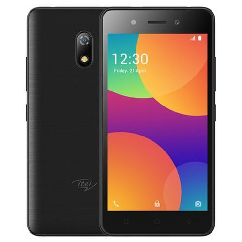 """A16 Plus 5.0"""" Screen Android 8.1 Go Edition, 1GB RAM + 8GB ROM, 5MP+2MP, 2050mAh Dual SIM 3G - Black With Free Case"""