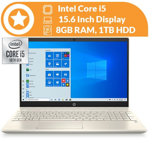 Pavilion 14 10th Gen Intel Core I5, 8gb Ram, 1tb Hdd, Luminous Backlit Keyboard Wins 10