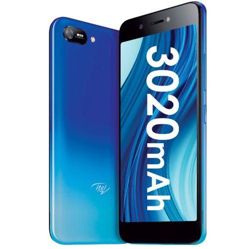 "A35 5.0"" HD Screen, 1GB RAM + 16GB ROM, Android 10, 3020mAh Battery, 5MP + 2MP Camera, Face Unlock, 3G - Blue +Free Case"