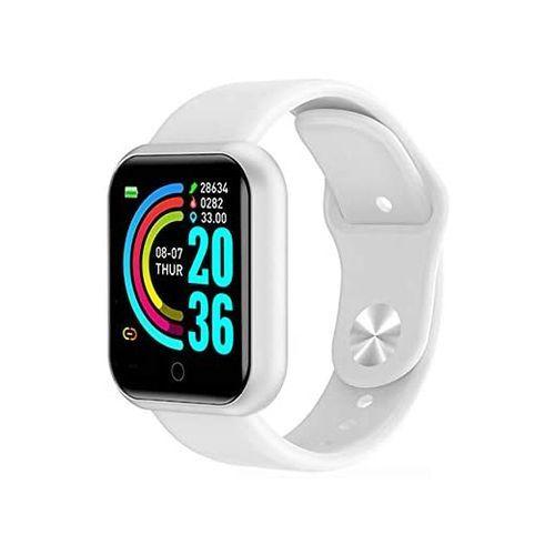 Fitness Tracker Bluetooth Smart Watch - White