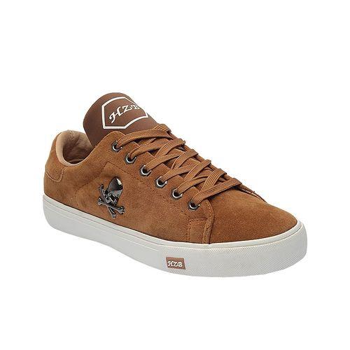 Bone Clip Sneakers - Brown