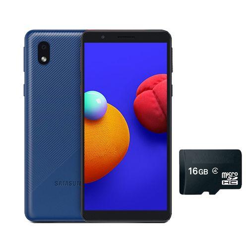 "GALAXY A3 CORE -5.3"" -16GB ROM/1GB RAM -8MP/5MP CAMERA -3000MAH -4G WITH FREE 16GB MEMORY CARD- BLUE"