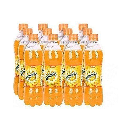 12 Packs Of Mirinda Orange Plastic Bottles