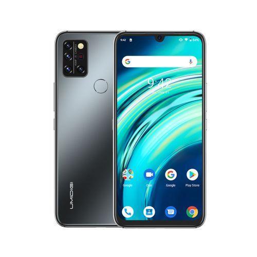 A9 Pro Infrared Temperature Sensor (32MP+16MP+5MP+5MP) +24MP 6.3-Inch (4GB,64GB ROM) Android 10 Smartphone-Onyx Black