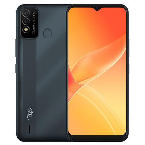 """P37 6.5"""" HD+ Screen, 2GB RAM + 32GB ROM, 5000mAh Battery, Android 10, 8MP Dual Rear Camera, Fingerprint -Blue +Free Case"""