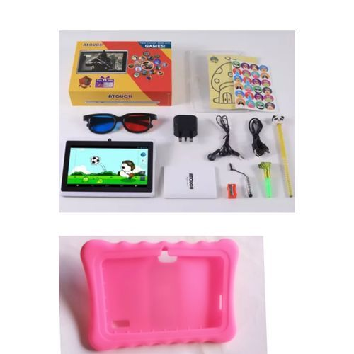 Kiddies Educational Learning Tablet 1GB RAM 8GB Rom + Pouch