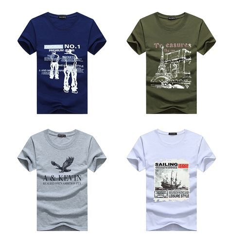 Printing Mens T-shirts Combo Of 4