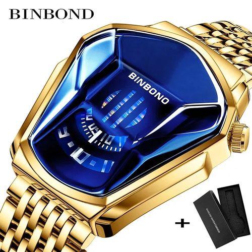 Top Luxury Stainless Steel Waterproof Wristwatch