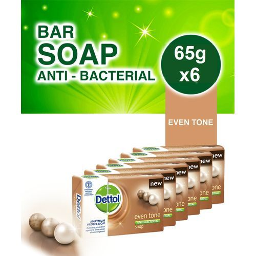 Even Tone Anti-Bacterial Soap - 65g (Pack Of 6)