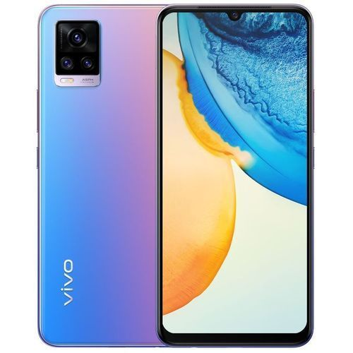 """V20 - 6.44"""" (8GB RAM, 256GB ROM) Android 11 (64/8/2)MP + 44MP Wide Angle Selfie - 4000mAh - 4G - Sunset Melody"""