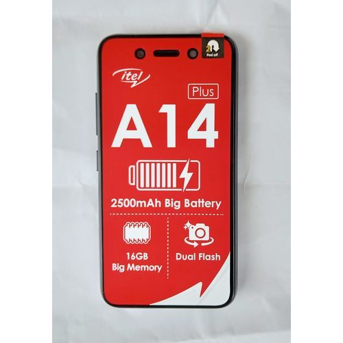 """A14plus - 4.0""""screen (16GB ROM + 512MB RAM) Android 10(Go Edition) 2500mAh Battery - Deep Blue"""