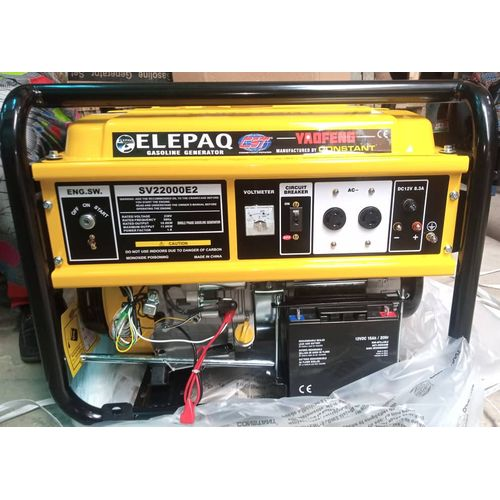 11KVA 100% Copper Generator - SV22000E2 With Key