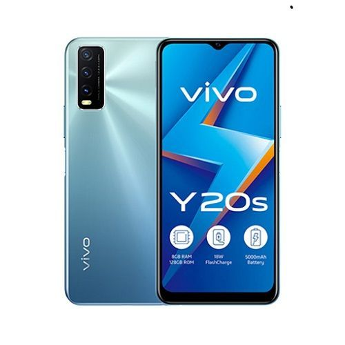 Y20s, 6.51-Inch, 8GB RAM 128GB ROM Android 10 (13MP + 2MP + 2MP) + 8MP Dual SIM - Dawn White