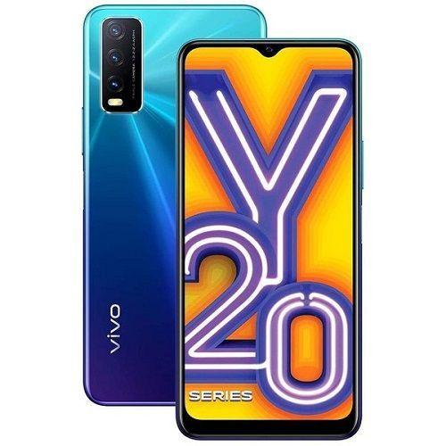 Y20, 6.51-Inch, 4GB RAM 64GB ROM Android 10 (13MP + 2MP + 2MP) + 8MP Dual SIM - Nebula Blue