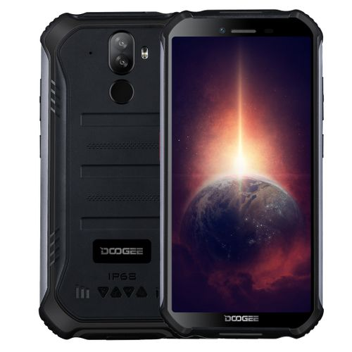S40 Pro Rugged Phone, 4GB+64GB, 4650mAh Battery, 5.45 Inch Android 10, Network: 4G(Black)