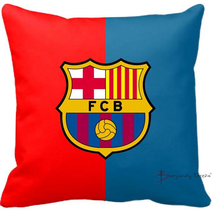 club football throw pillow fc barcelona