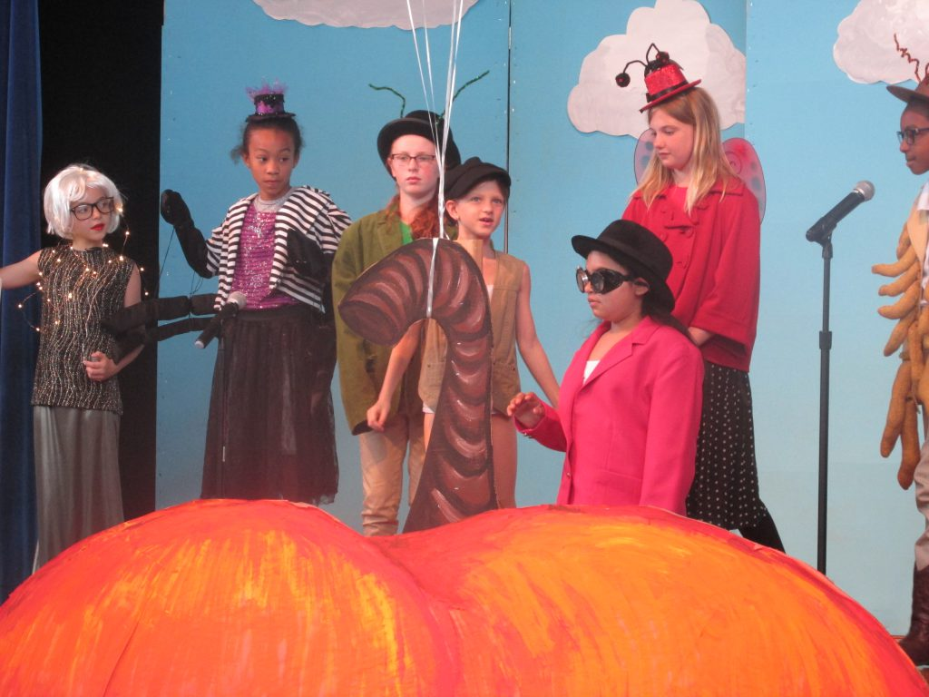 New Garden S Theater Club Presented James And The Giant Peach