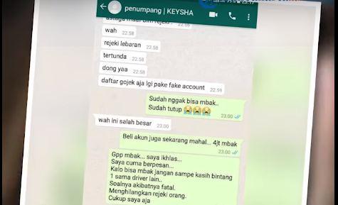 Viral Wanita Dihujat Netizen karena Beri Bintang 1 ke Driver Taksi Online