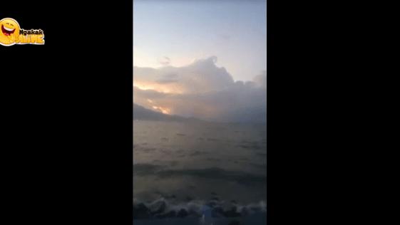 Video Menyeramkan Berisi Suara Teriakan Korban Tsunami, Benarkah?