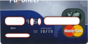 Thẻ Marter Card Payoneer