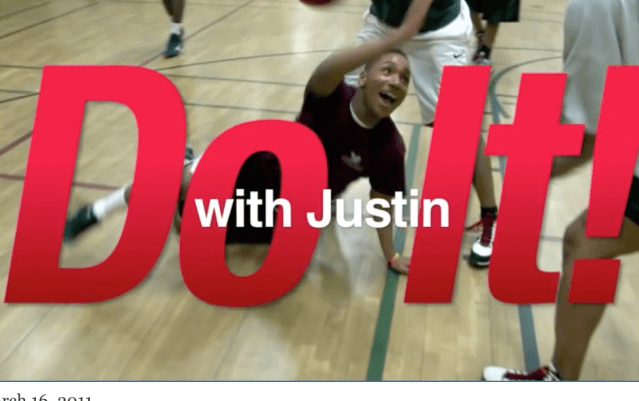 Do it with Justin! Featuring DC Sentinels