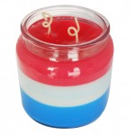 triple layer candle incorporating French Vanilla Original Fragrance Oil