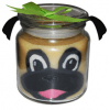 Pug Candle