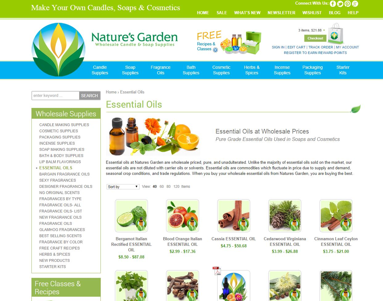 Are Natures Garden Oils Natural