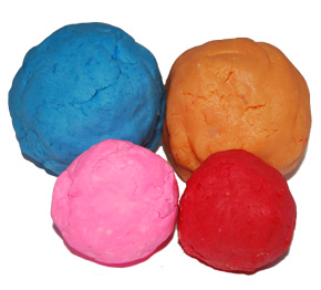 14 Ways To Use Arrowroot Powder: Play Dough Soap Recipe