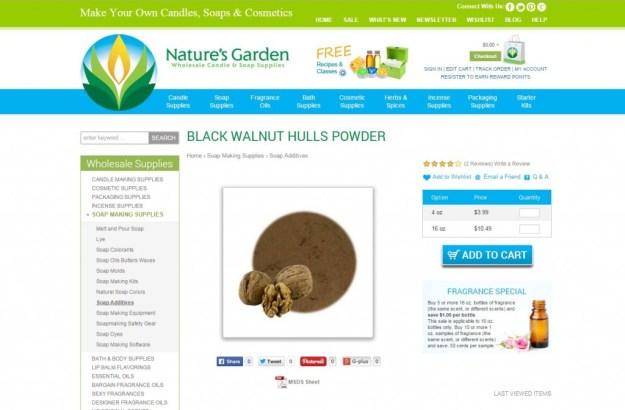 black walnut hulls page
