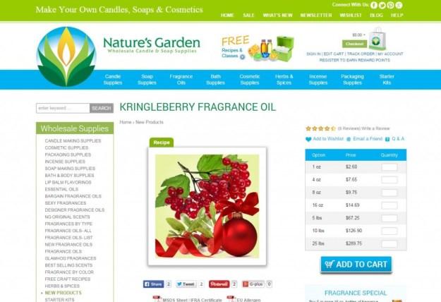 kringleberry page