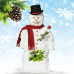 Funny Candle Scents Snowman Balls Fragrance Oil
