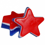 Soap Making Molds 6 Cavity Star - Silicone Soap Mold Layered